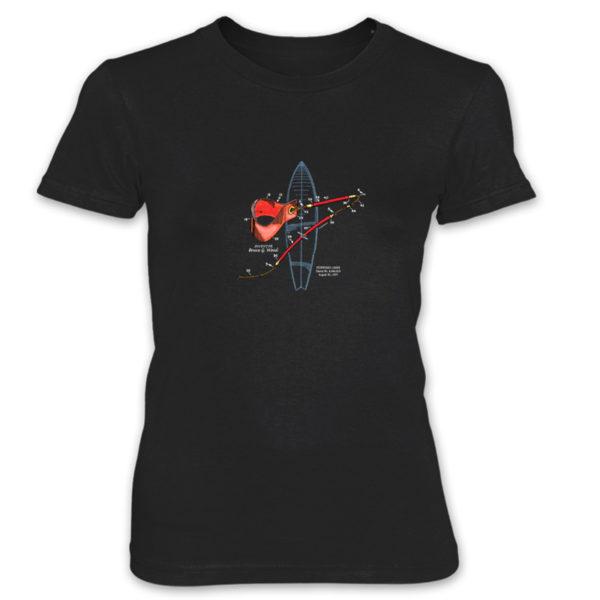Leash Women's T-Shirt BLACK