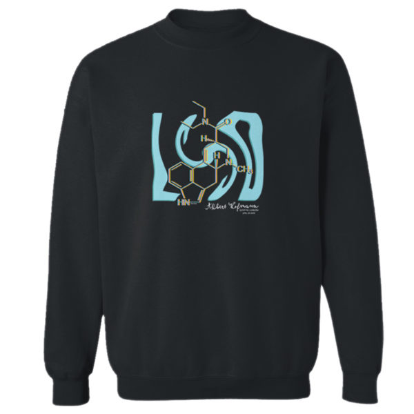 LSD Crewneck Sweatshirt BLACK