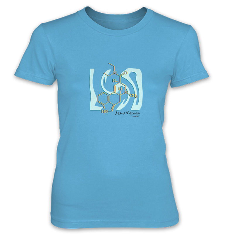 LSD Women's T-Shirt CARIBBEAN BLUE