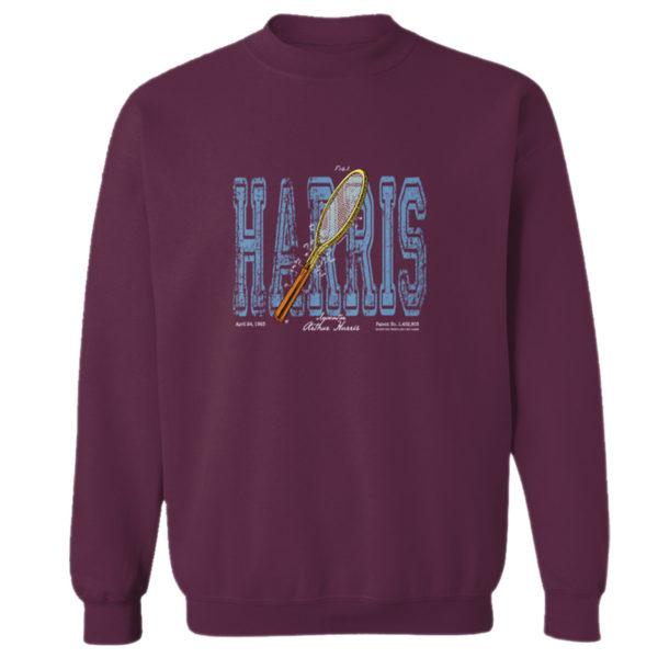 Tennis-Harris Crewneck Sweatshirt MAROON