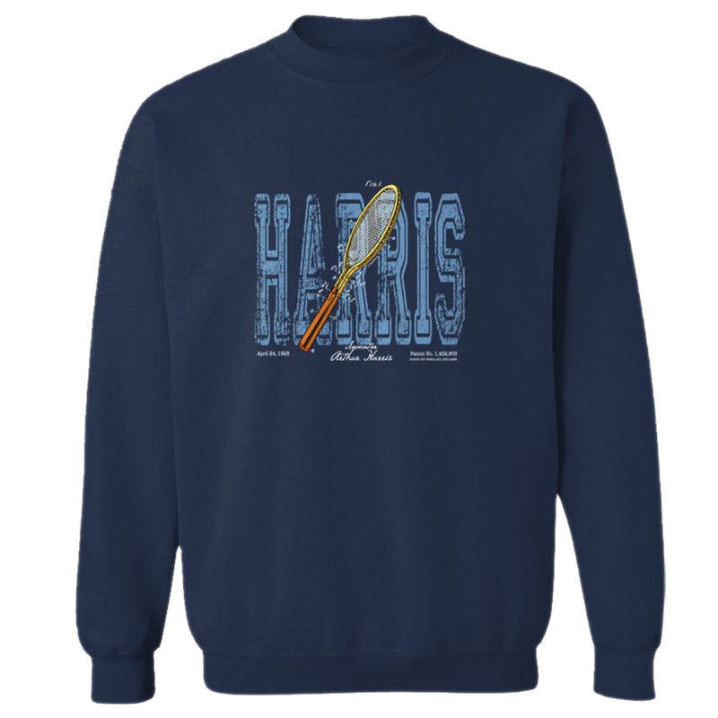Tennis-Harris Crewneck Sweatshirt NAVY