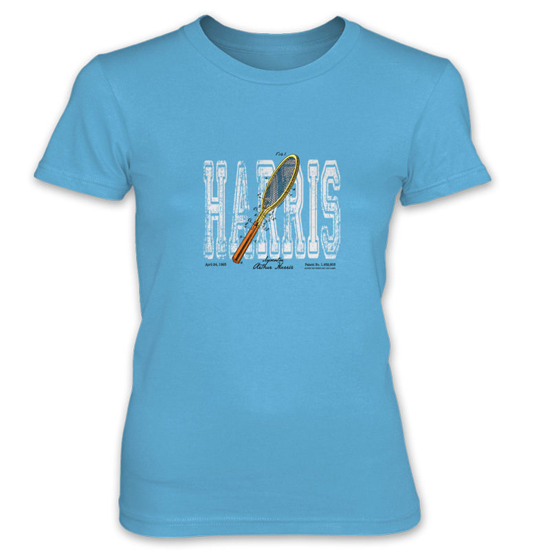 Tennis-Harris Women's T-Shirt CARIBBEAN BLUE
