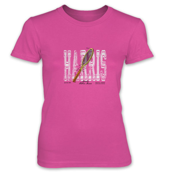 Tennis-Harris Women's T-Shirt HOT PINK