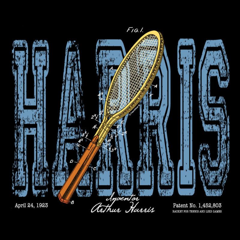Tennis-Harris Design on Darks