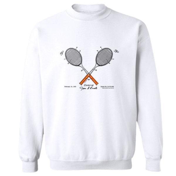 Tennis-Lacoste Crewneck Sweatshirt WHITE
