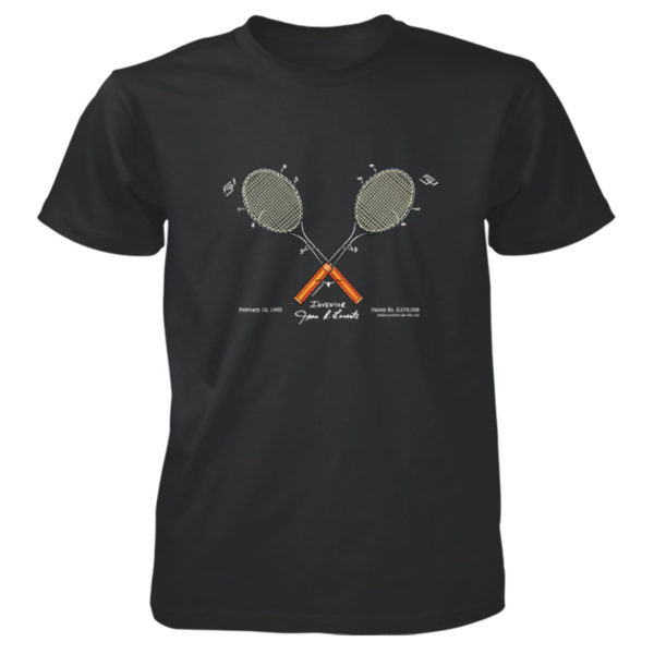 Tennis-Lacoste T-Shirt BLACK