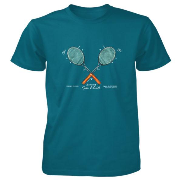 Tennis-Lacoste T-Shirt GALAPAGOS BLUE