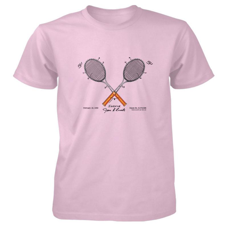 Tennis-Lacoste T-Shirt LIGHT PINK