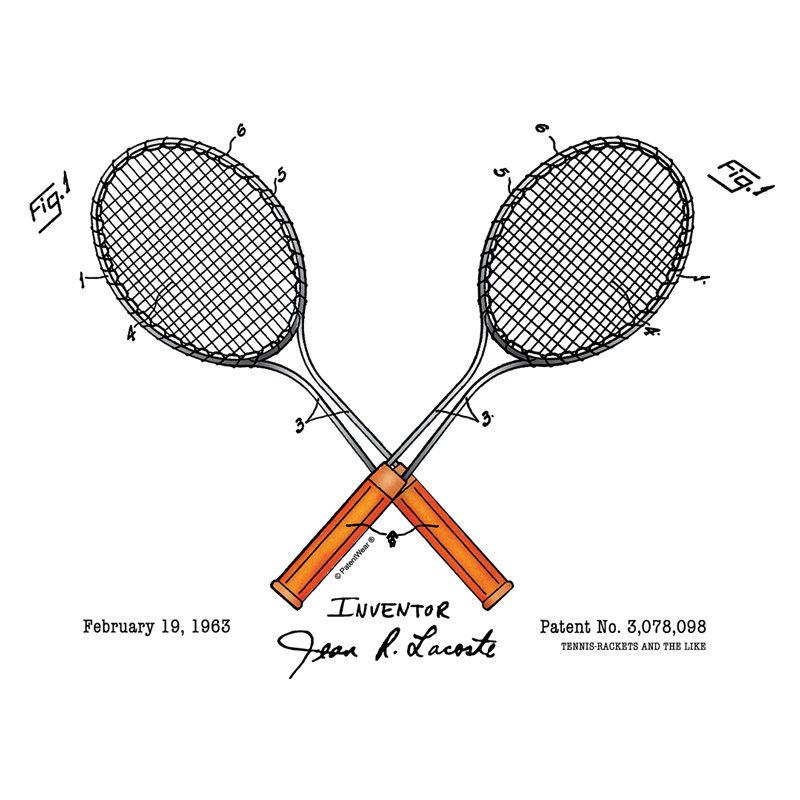 Tennis-Lacoste Design