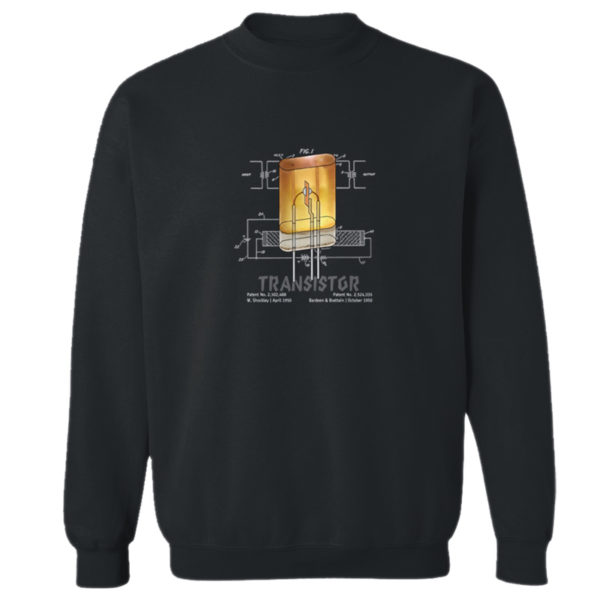 Transistor Crewneck Sweatshirt BLACK