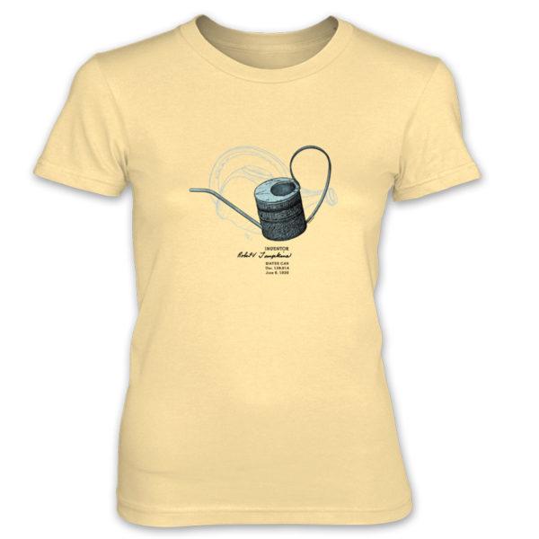 Water Can Women's T-Shirt SPRING YELLOW