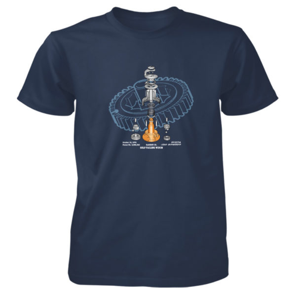 Winch Blowup T-Shirt NAVY