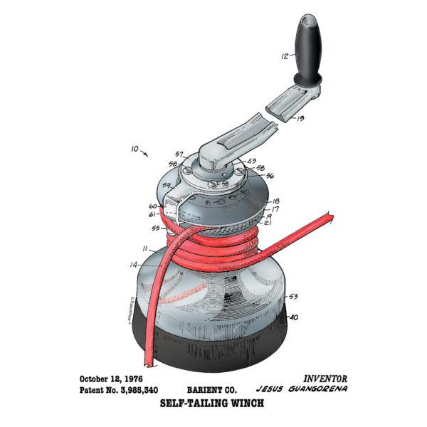 Winch Patent Design