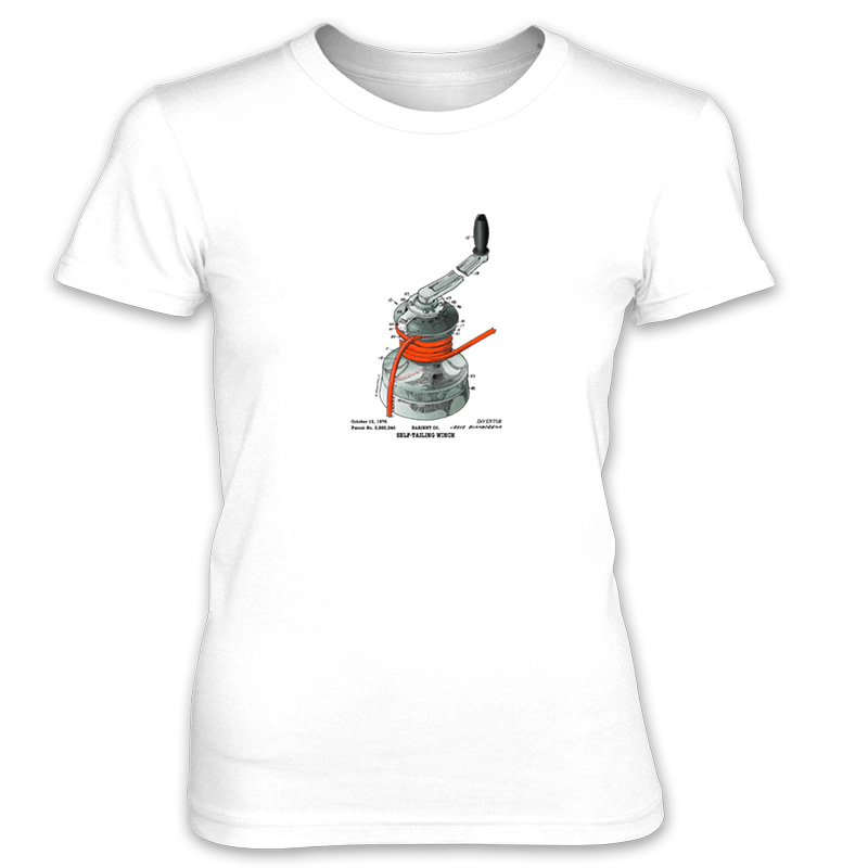 Winch Women's T-Shirt WHITE