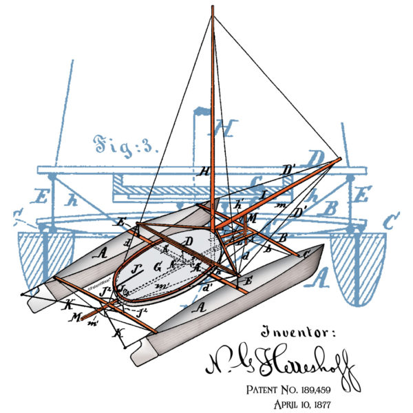 Herreshoff Catamaran Design