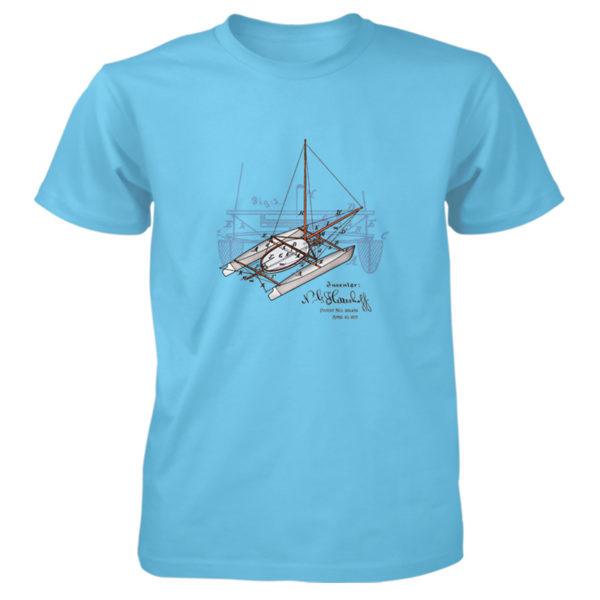 Herreshoff Catamaran T-Shirt SKY