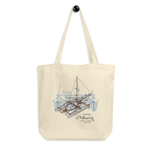 Herreshoff Catamaran Tote Bag FRONT