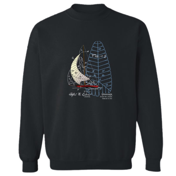 Spinnaker Crewneck Sweatshirt BLACK