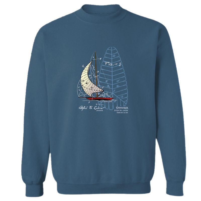 Spinnaker Crewneck Sweatshirt INDIGO BLUE