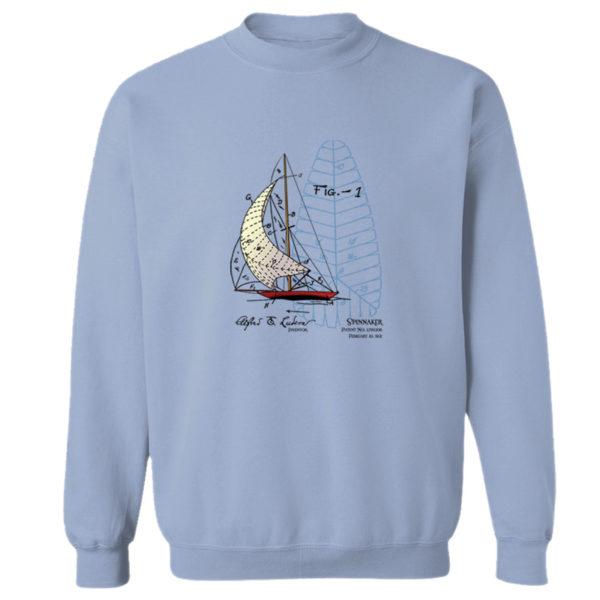 Spinnaker Crewneck Sweatshirt LIGHT BLUE