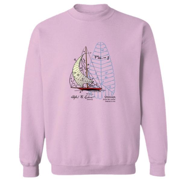 Spinnaker Crewneck Sweatshirt LIGHT PINK