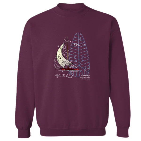 Spinnaker Crewneck Sweatshirt MAROON