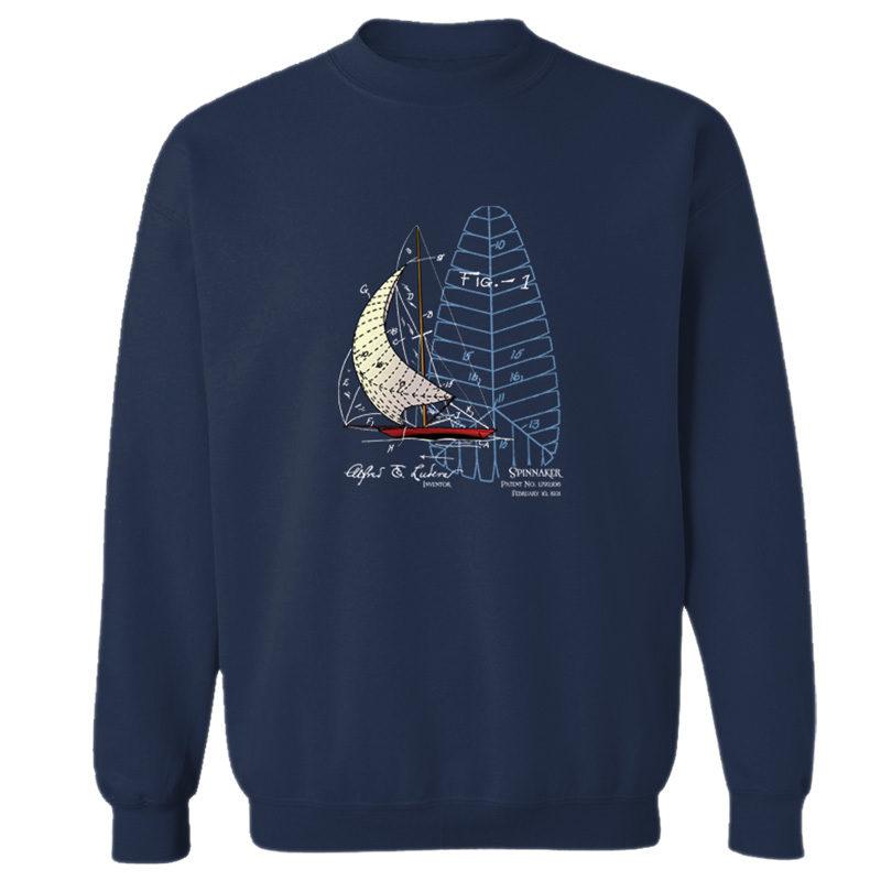 Spinnaker Crewneck Sweatshirt NAVY