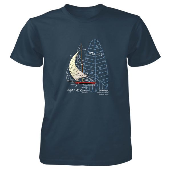 Spinnaker T-Shirt BLUE DUSK