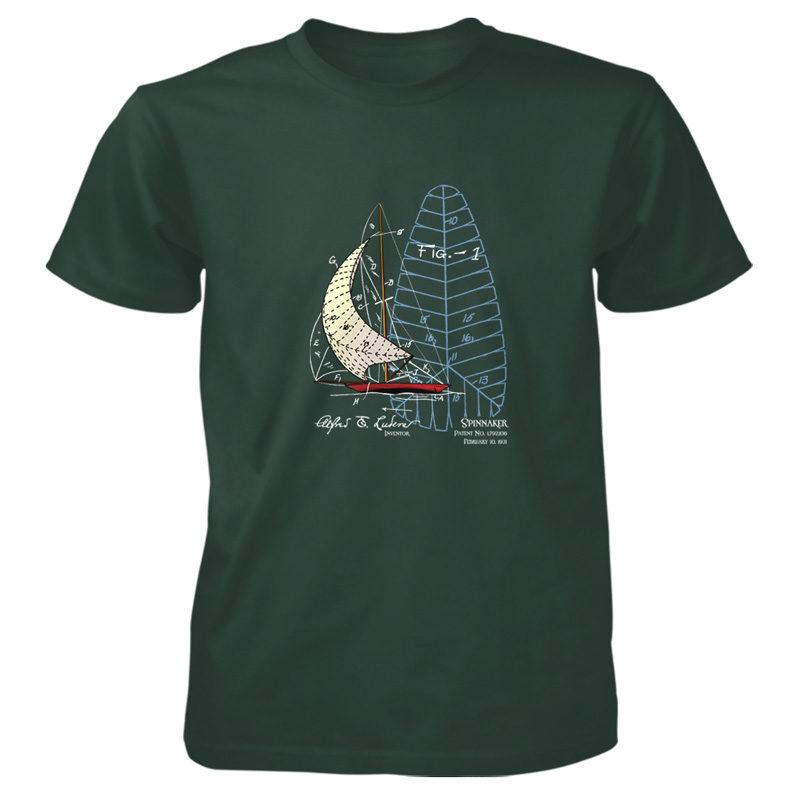 Spinnaker T-Shirt FOREST