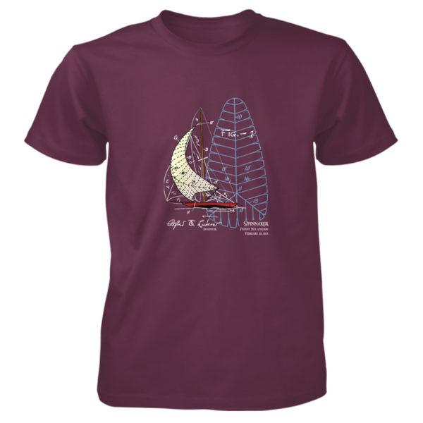 Spinnaker T-Shirt MAROON