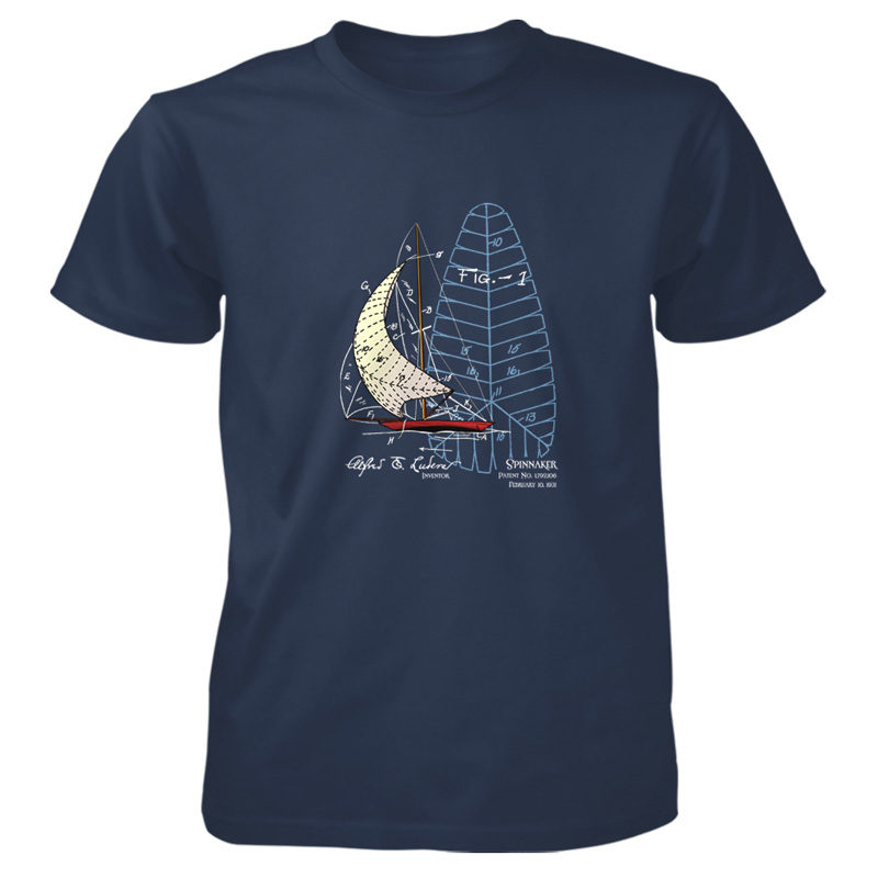 Spinnaker T-Shirt NAVY