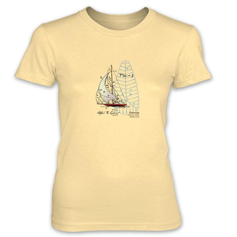 Spinnaker Women's T-Shirt SPRING YELLOW