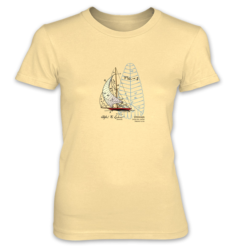 Spinnaker Women's T-Shirt SPRING YELLOW