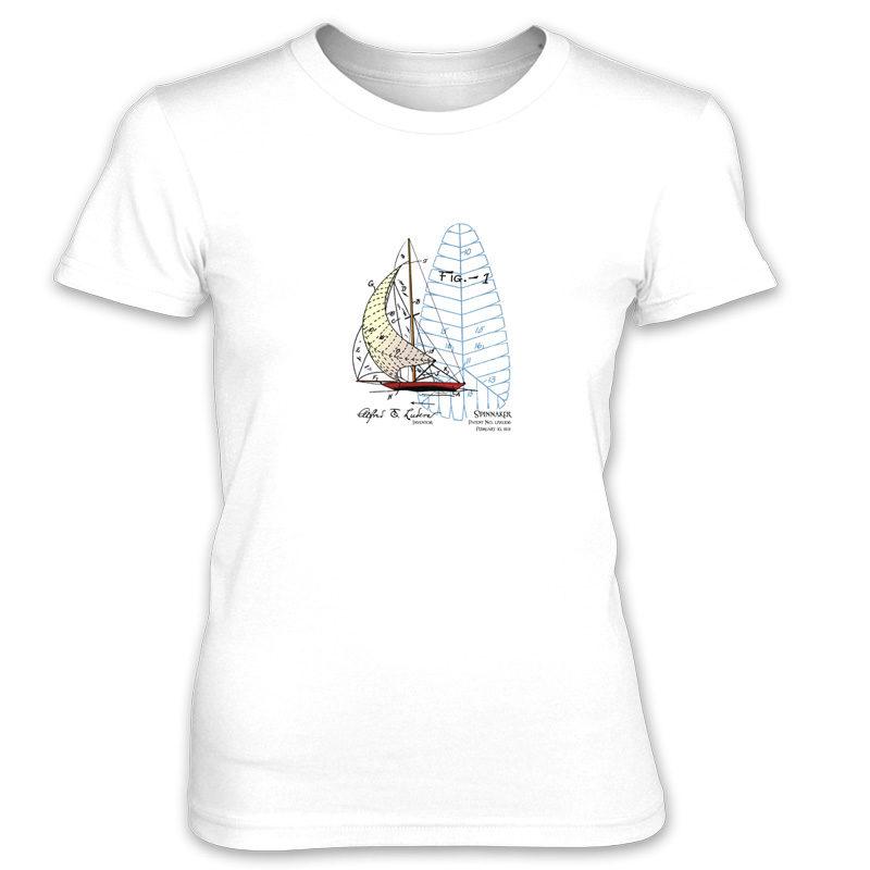 Spinnaker Women's T-Shirt WHITE
