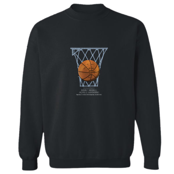 Basketball Crewneck Sweatshirt BLACK
