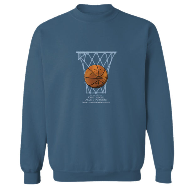 Basketball Crewneck Sweatshirt INDIGO BLUE