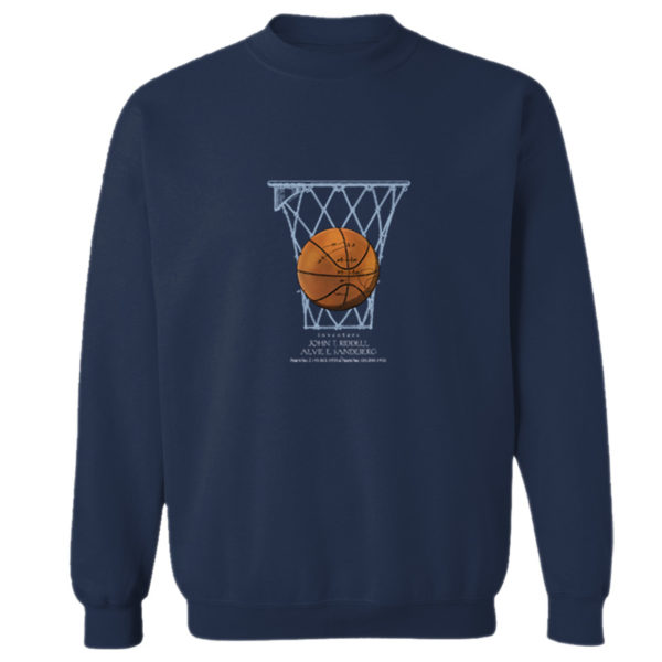 Basketball Crewneck Sweatshirt NAVY