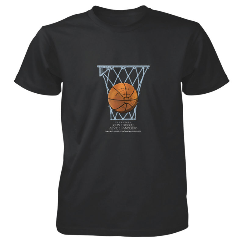 Basketball T-Shirt BLACK
