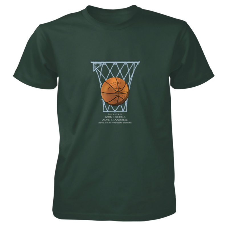 Basketball T-Shirt FOREST