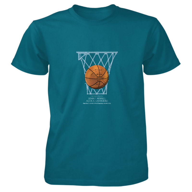 Basketball T-Shirt GALAPAGOS BLUE