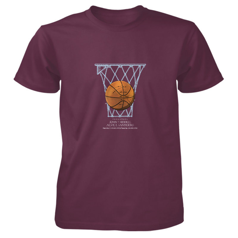 Basketball T-Shirt MAROON