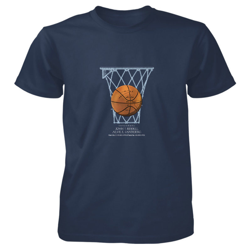 Basketball T-Shirt NAVY