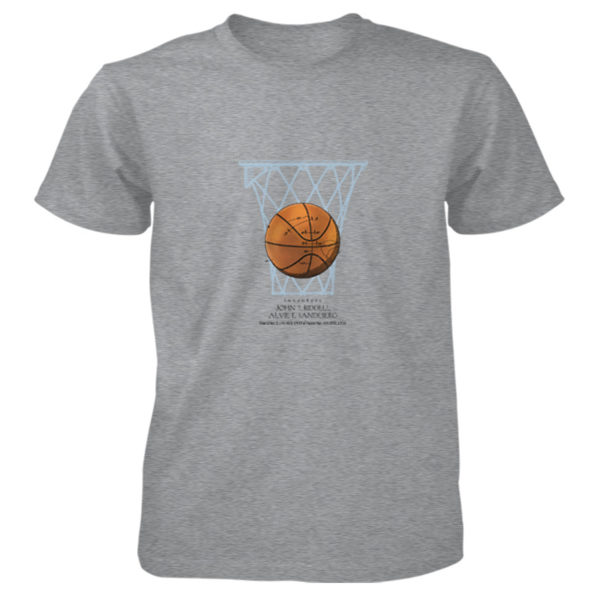 Basketball T-Shirt SPORT GREY