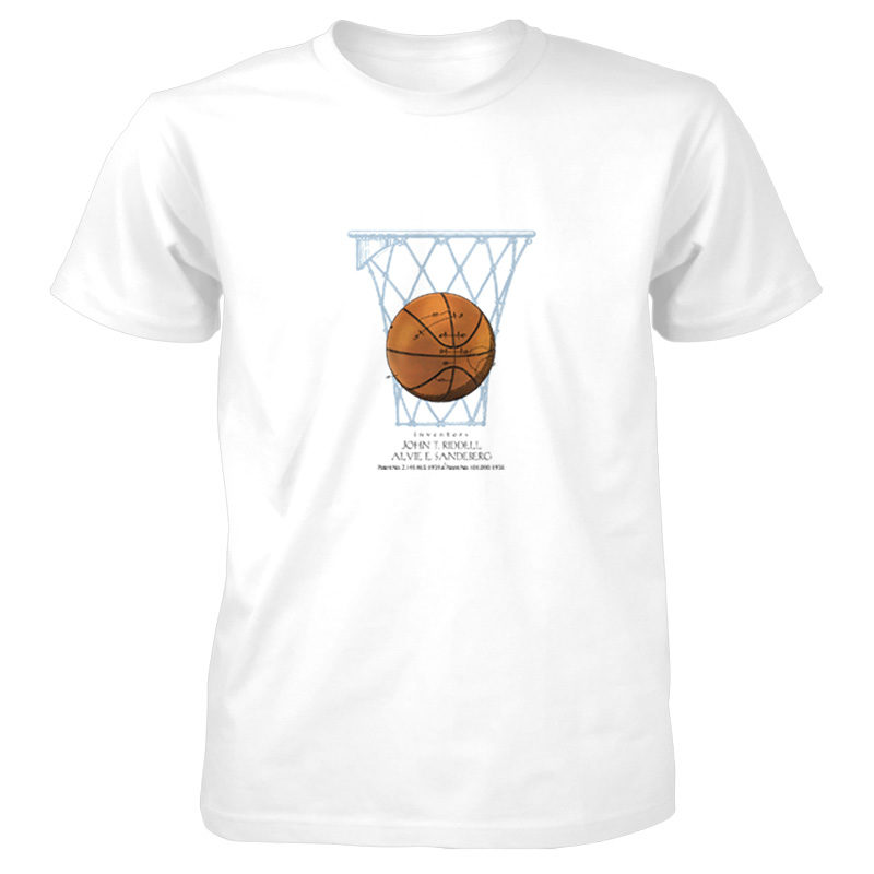 Basketball T-Shirt WHITE