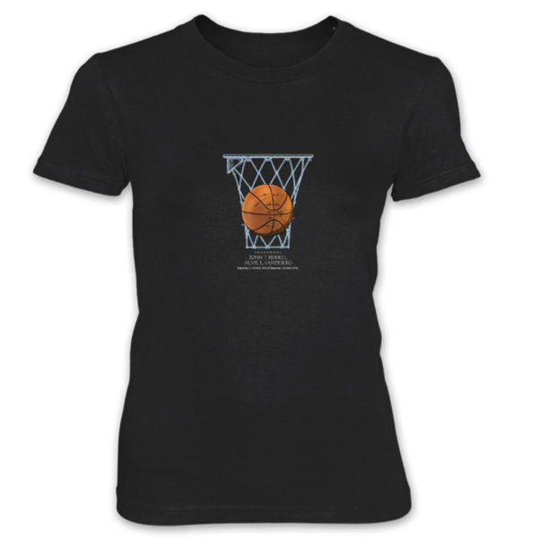 Basketball Women's T-Shirt BLACK