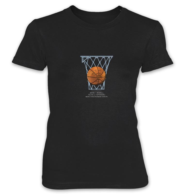 Basketball Women's T-Shirt BLACK