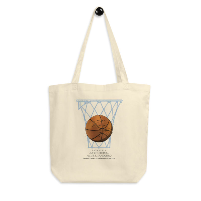 Basketball Tote Bag FRONT