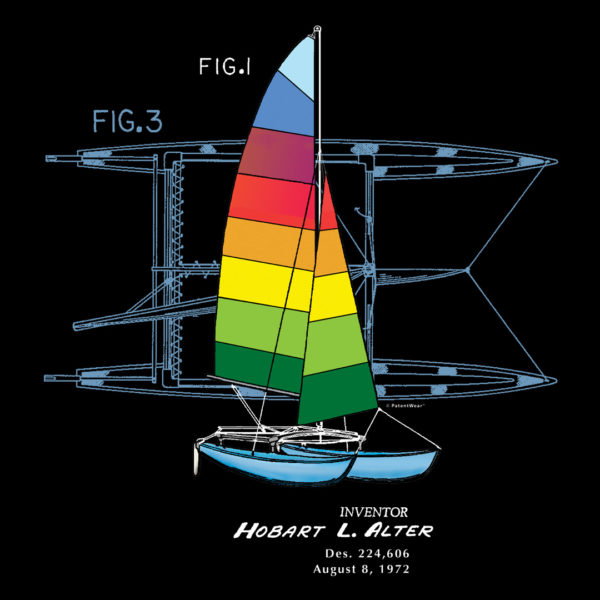 Hobie Cat Design on Darks