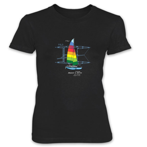 Hobie Cat Women's T-Shirt BLACK