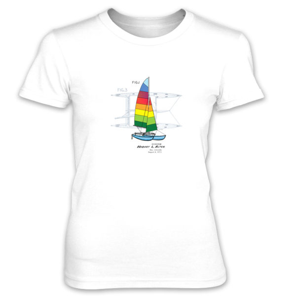 Hobie Cat Women's T-Shirt WHITE